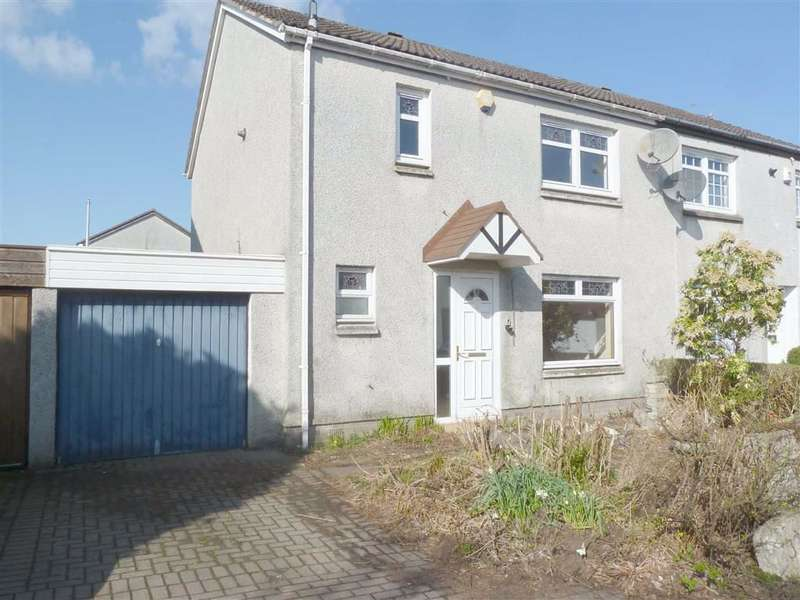 3 Bedrooms Semi Detached House for sale in Talisman Rise, Livingston