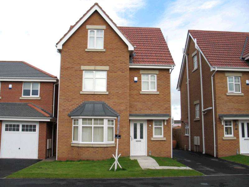 4 Bedrooms Detached House for sale in Weavermill Park, Ashton -In- Makerfield, Wigan, WN4 9EZ