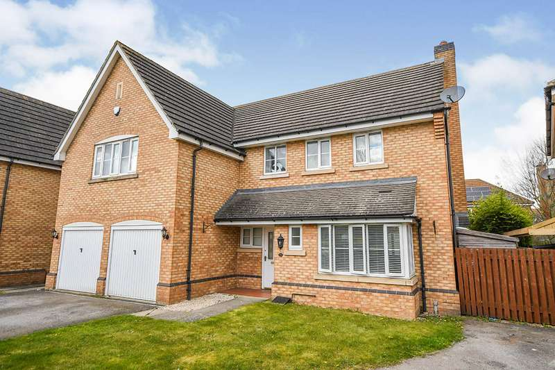5 Bedrooms Detached House for sale in Dorchester Way, North Hykeham, Lincoln, Lincolnshire, LN6