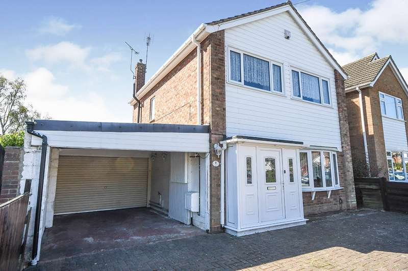 3 Bedrooms Detached House for sale in Woodfield Avenue, Lincoln, Lincolnshire, LN6