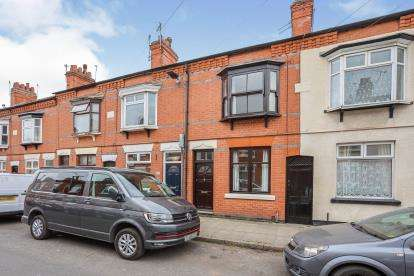 2 Bedrooms Terraced House for sale in Bassett Street, Leicester, Leicestershire