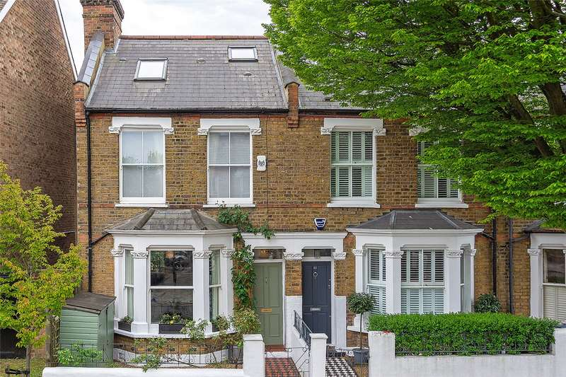 4 Bedrooms End Of Terrace House for sale in Somerset Road, Chiswick, London, W4