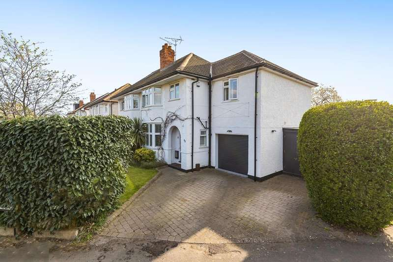 4 Bedrooms Semi Detached House for sale in Church Road, Byfleet, West Byfleet, KT14