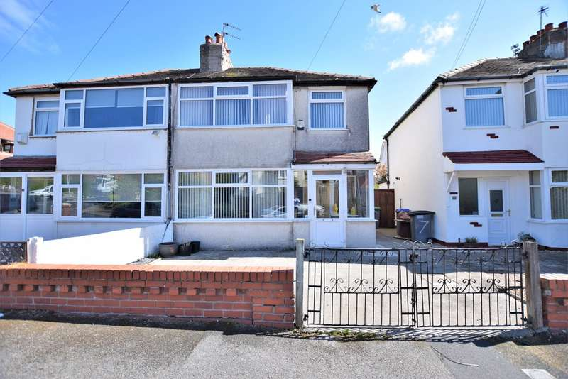 3 Bedrooms Semi Detached House for sale in Gretna Crescent, Thornton-Cleveleys