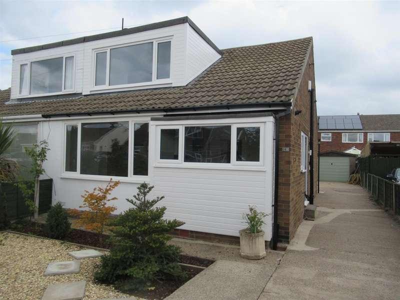 3 Bedrooms Semi Detached Bungalow for rent in Wolsey Croft, Sherburn In Elmet, Leeds
