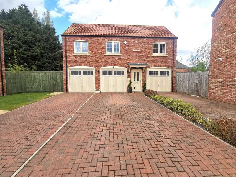 2 Bedrooms Detached House for sale in Chapter Close, Lincoln, Lincolnshire, LN6