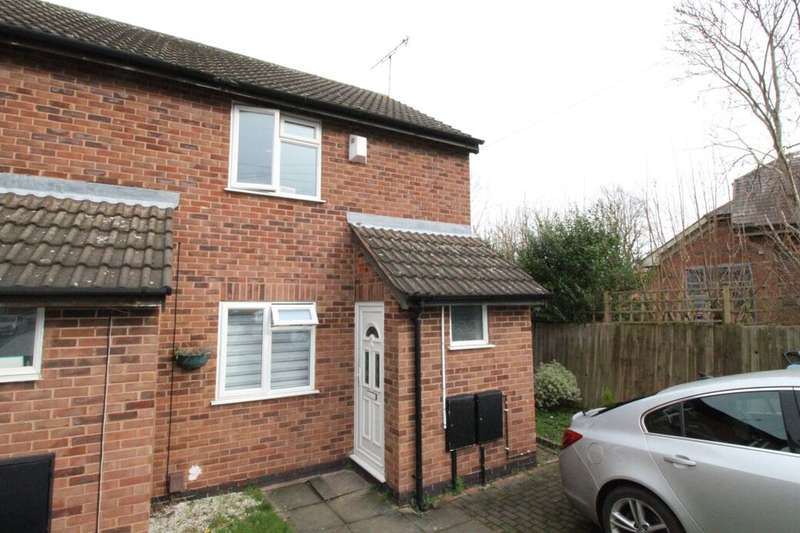 2 Bedrooms Terraced House for sale in Caroline Court, Leicester, LE2