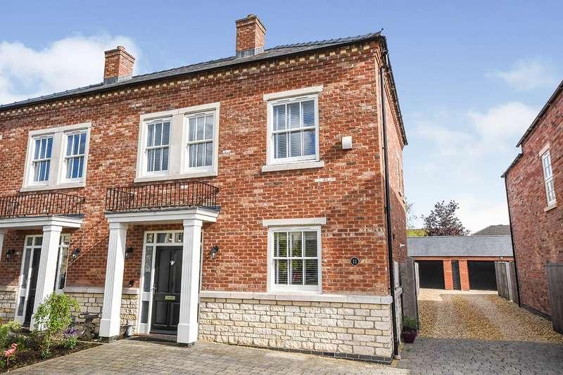 4 Bedrooms Semi Detached House for sale in Medland Drive, Bracebridge Heath, Lincoln, Lincolnshire, LN4
