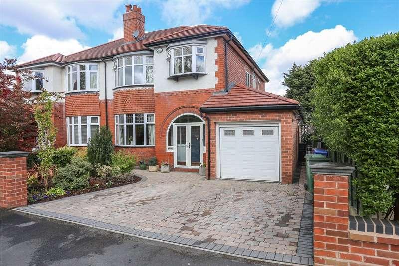 4 Bedrooms Semi Detached House for sale in Buckingham Road, Heaton Moor, Stockport, SK4