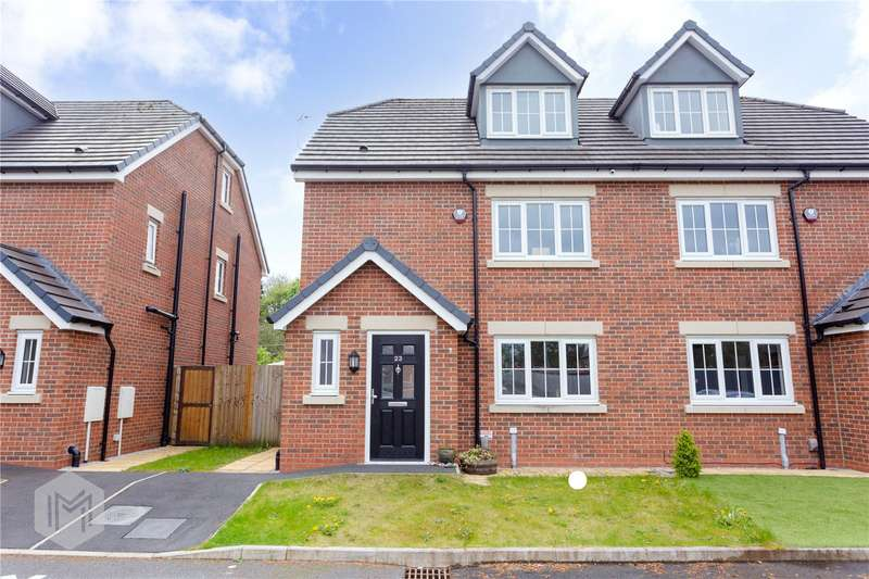 4 Bedrooms Semi Detached House for sale in Woodlands Place, Bolton, BL3