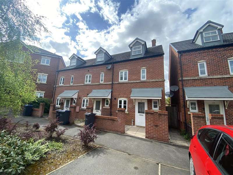 3 Bedrooms End Of Terrace House for sale in Brewers Square, Birmingham, B16 0PN
