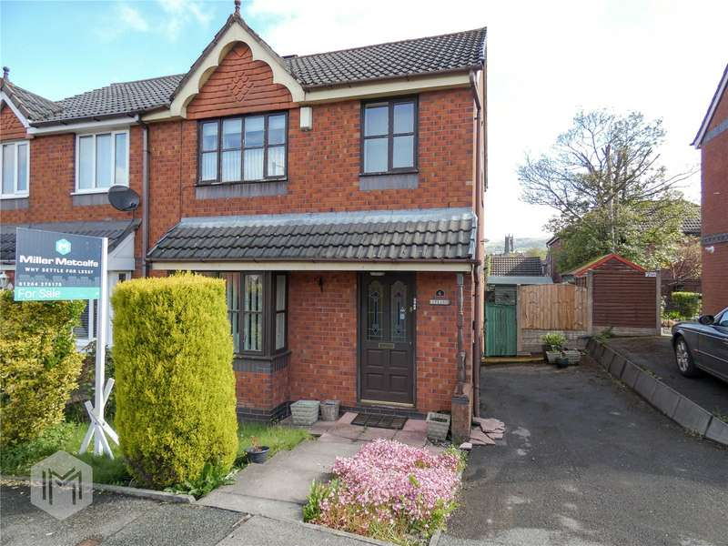 3 Bedrooms Semi Detached House for sale in Gresley Avenue, Horwich, Bolton, BL6