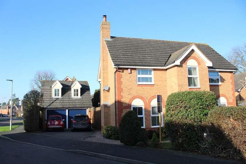 4 Bedrooms Detached House for sale in Castleton Road, Barnwood, Gloucester, GL4
