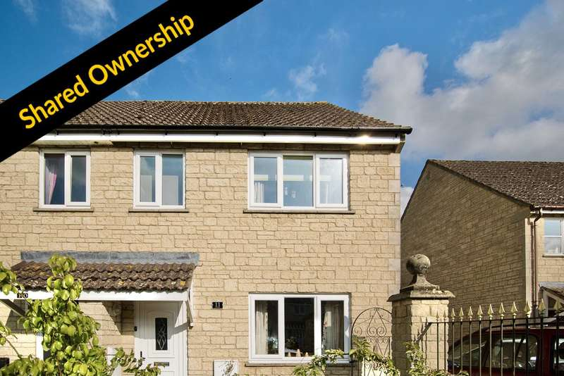 3 Bedrooms Semi Detached House for sale in Perrinsfield, Lechlade, Gloucestershire GL7