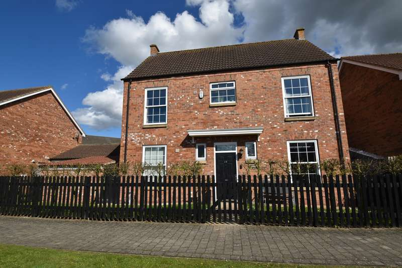 4 Bedrooms Detached House for sale in Bishop Tozer Close, Burgh Le Marsh, PE24