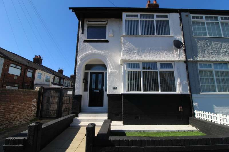 3 Bedrooms End Of Terrace House for sale in Bedford Road, Liverpool, Merseyside, L4