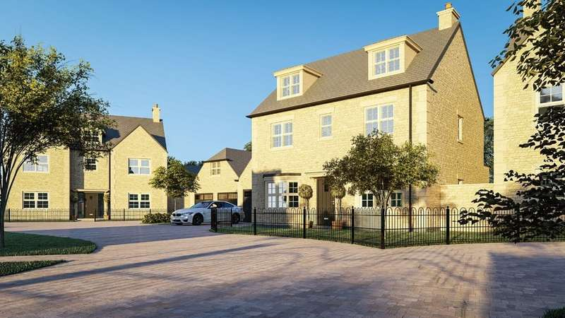 4 Bedrooms Detached House for sale in Top Lock Meadows, Uffington Road, Stamford