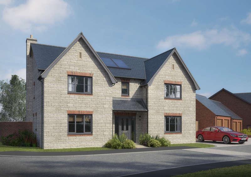 5 Bedrooms Detached House for sale in Glebe Rise, Wymondham, Melton Mowbray