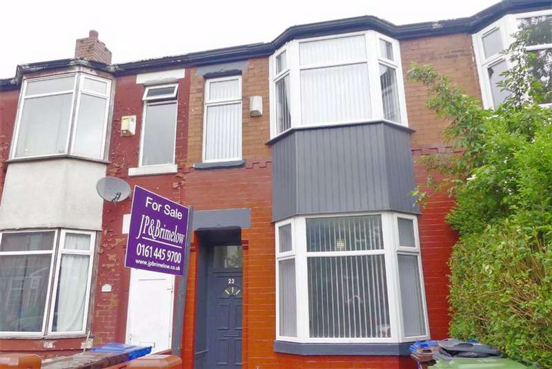 3 Bedrooms Terraced House for sale in Dorset Road, Levenshulme, Manchester, M19