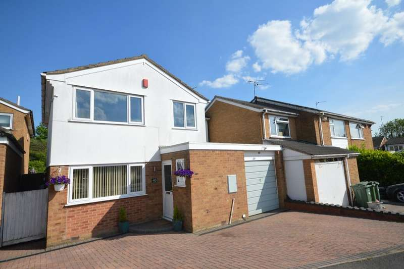 4 Bedrooms Detached House for sale in Sonning Way, Glen Parva, Leicester, LE2