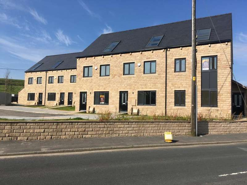 4 Bedrooms Town House for sale in Higher Pastures, Huddersfield Road, Scouthead, Saddleworth, OL4 4AS