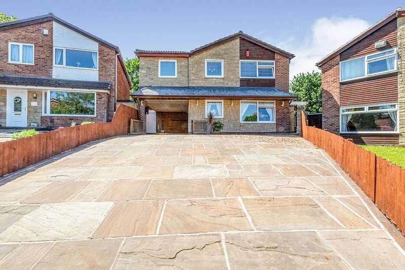 5 Bedrooms Detached House for sale in Carr Meadow, Bamber Bridge, Preston, PR5