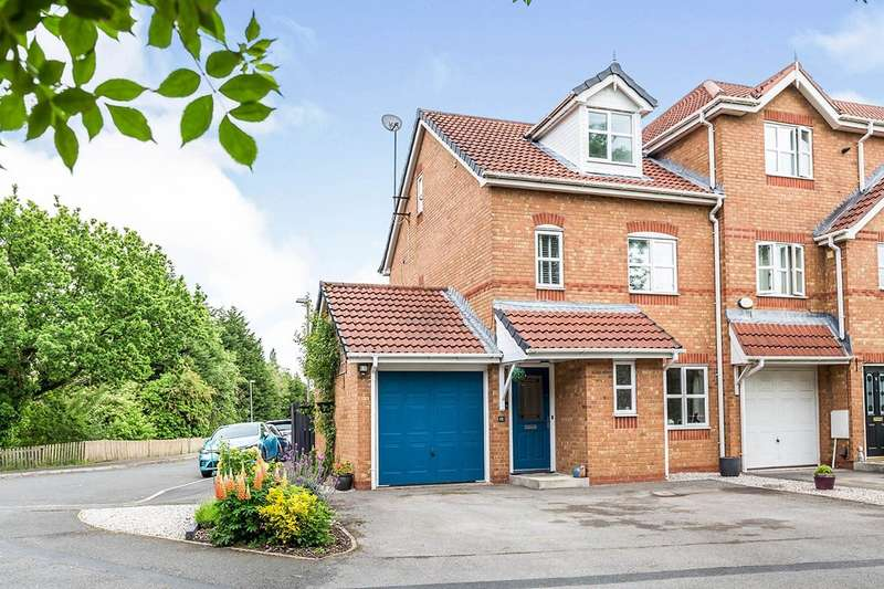 4 Bedrooms End Of Terrace House for sale in Woodcock Close, Bamber Bridge, Preston, PR5
