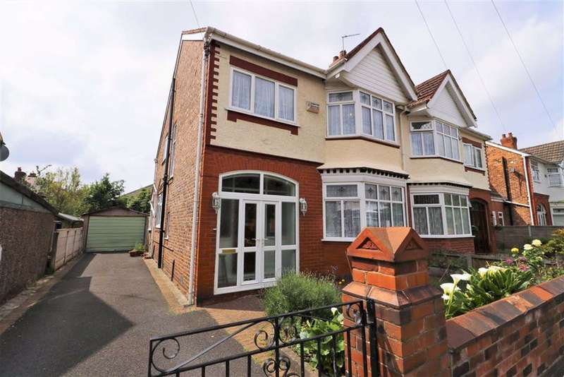 4 Bedrooms Semi Detached House for sale in Brooklyn Avenue, Whalley Range, Manchester, M16