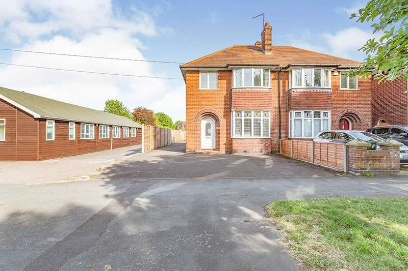 3 Bedrooms Semi Detached House for sale in Park Road, Loughborough, LE11
