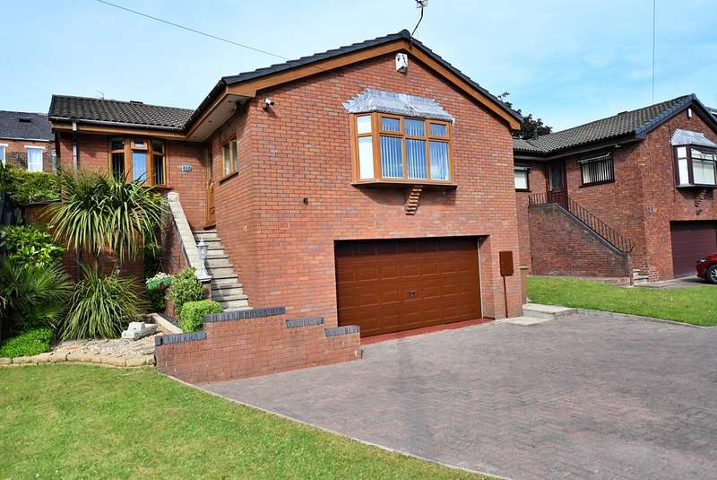 3 Bedrooms Detached Bungalow for sale in Davids Farm Close, Middleton, Manchester