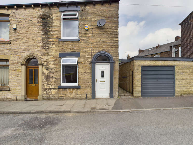 2 Bedrooms End Of Terrace House for sale in Brookway, Lees, Oldham
