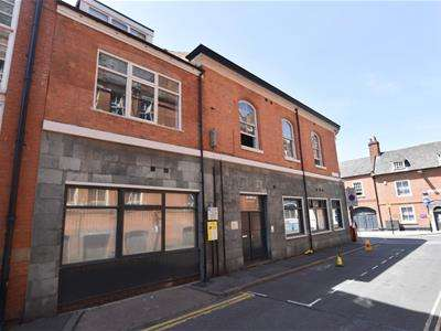 2 Bedrooms Flat for sale in 1a Rupert Street, Leicester