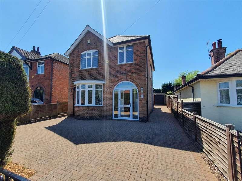 3 Bedrooms Detached House for sale in Leicester Road, Mountsorrel
