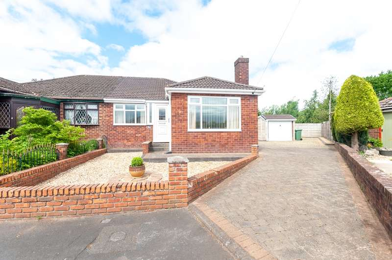 3 Bedrooms Semi Detached Bungalow for sale in Moorland Road, Ashton-in-Makerfield, Wigan, WN4