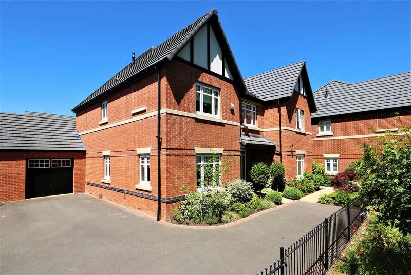 5 Bedrooms Detached House for sale in Ash Tree Road, Ashby-De-La-Zouch, LE65 2JH