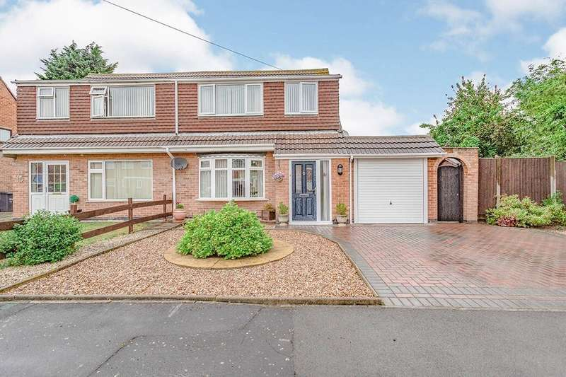 3 Bedrooms Semi Detached House for sale in Murdoch Rise, Loughborough, LE11