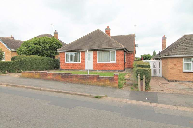3 Bedrooms Detached Bungalow for sale in Brookside Drive, Oadby, Leicester LE2
