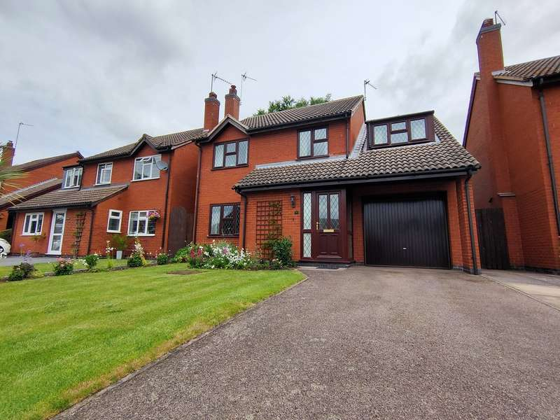 4 Bedrooms Detached House for sale in Cramps Close, Barrow upon Soar