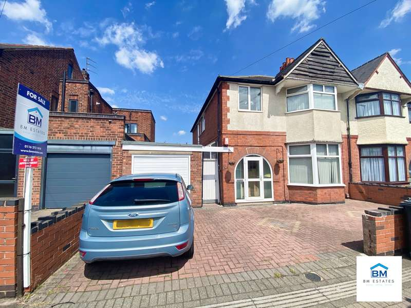4 Bedrooms Semi Detached House for sale in Evington Road, Leicester, LE2