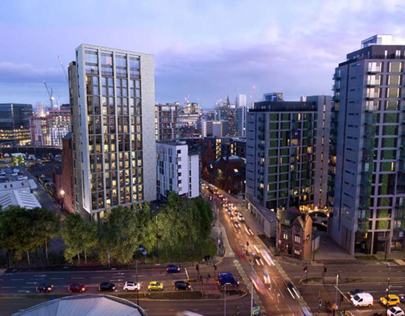2 Bedrooms Apartment Flat for sale in Queen Street, Manchester, M3