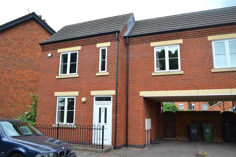 2 Bedrooms Semi Detached House for sale in Warner Place, Loughborough