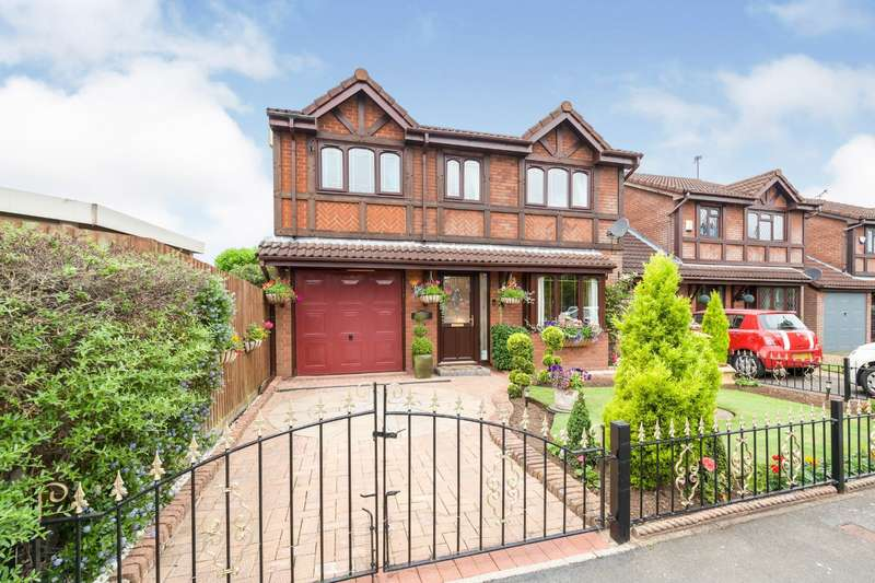 4 Bedrooms Detached House for sale in Shrewsbury Close, Barwell, Leicester, Leicestershire, LE9