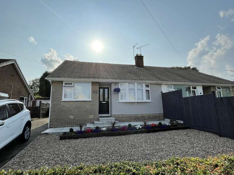 2 Bedrooms Semi Detached House for sale in Upland Drive, Markfield, Leicestershire, LE67