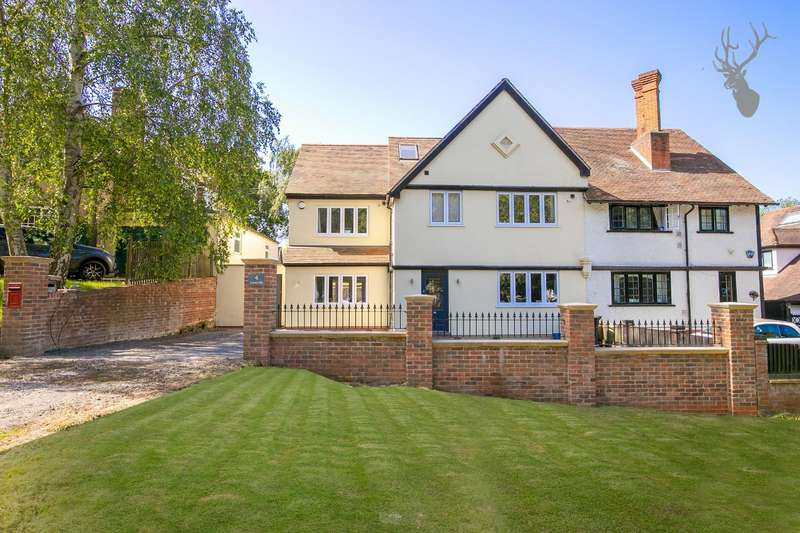 4 Bedrooms Semi Detached House for sale in Crown Hill, Waltham Abbey