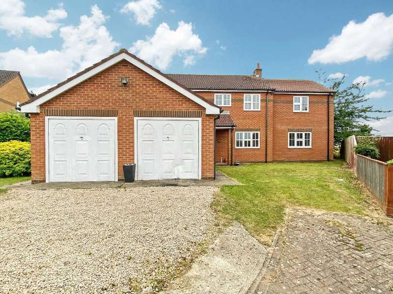 5 Bedrooms Detached House for sale in Congreves Close, Lutton, Spalding, Lincs, PE12 9LX