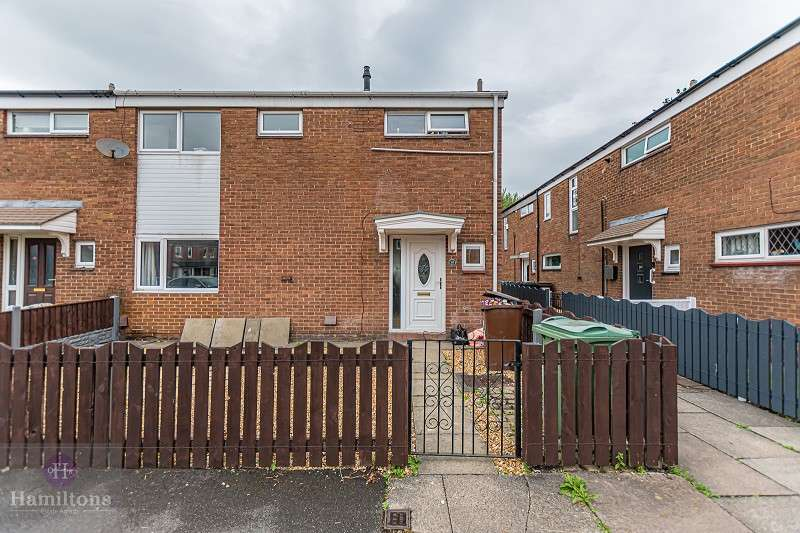 3 Bedrooms End Of Terrace House for sale in Okell Grove, Leigh, Greater Manchester. WN7 5AU