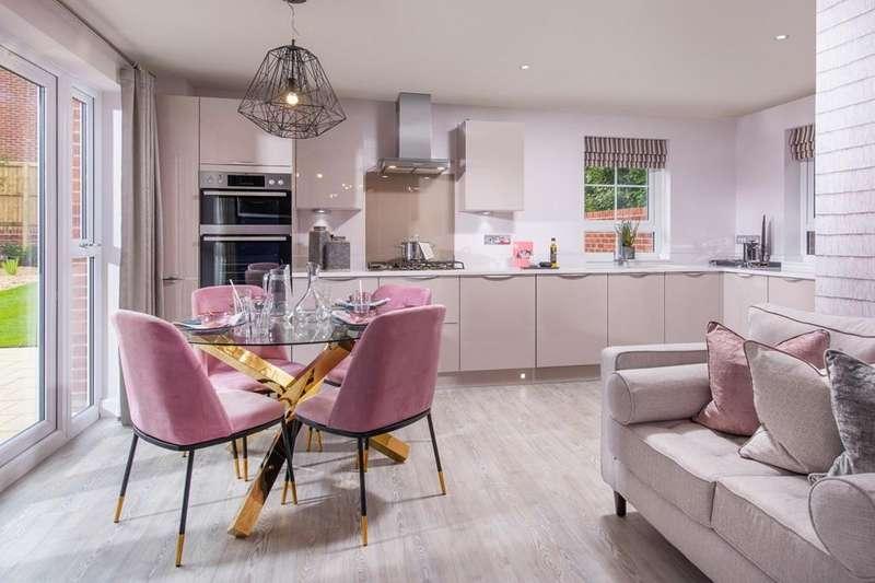 4 Bedrooms House for sale in Alnmouth, Barratt Homes at Bourne, Haydock Park Drive, Bourne, BOURNE, PE10 0WJ