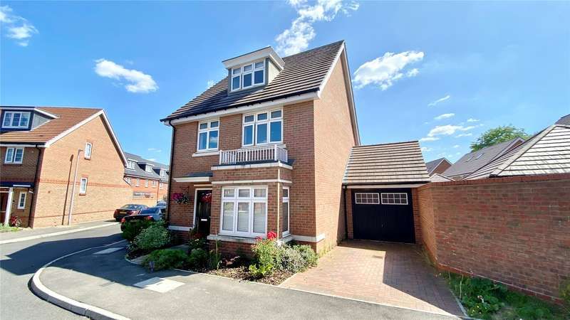 5 Bedrooms Detached House for sale in Repton Crescent, Earley, Reading, Berkshire, RG6
