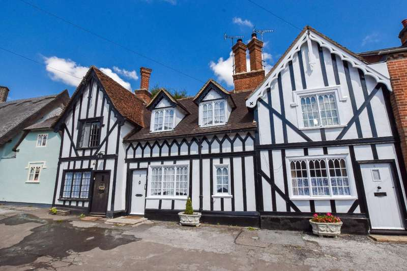 2 Bedrooms Cottage House for sale in Brook Street, Great Bardfield, Essex