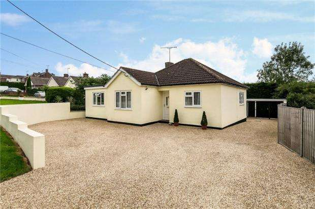 3 Bedrooms Detached Bungalow for sale in Spring Lane, Fordham Heath, Colchester